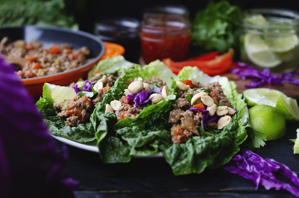 Asian lettuce wrap recipe